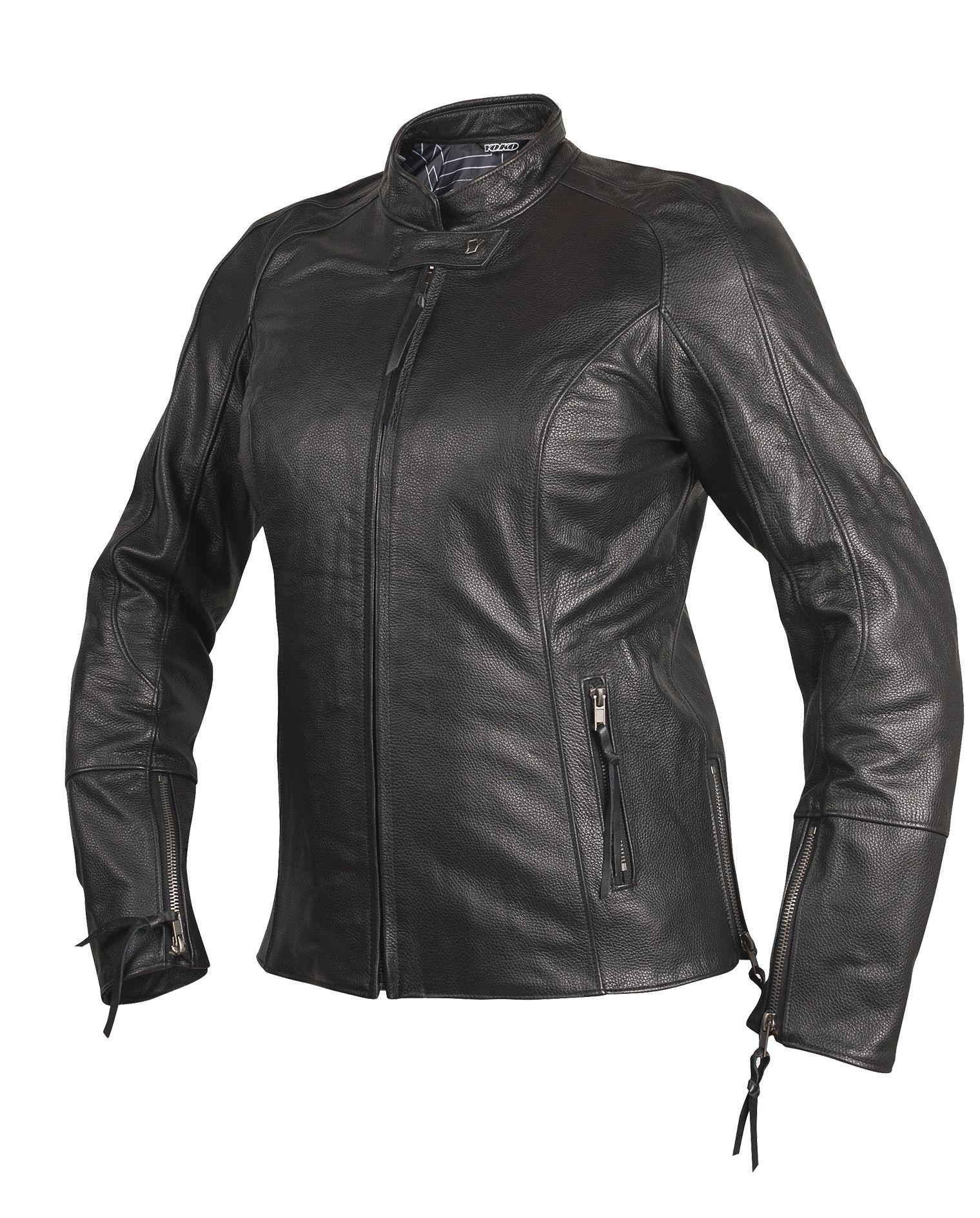 Yoko motorcycle gloves - Yoko Dama Black Motorcycle Jacket For Women Looks Actually Quite Nice No Cheesy