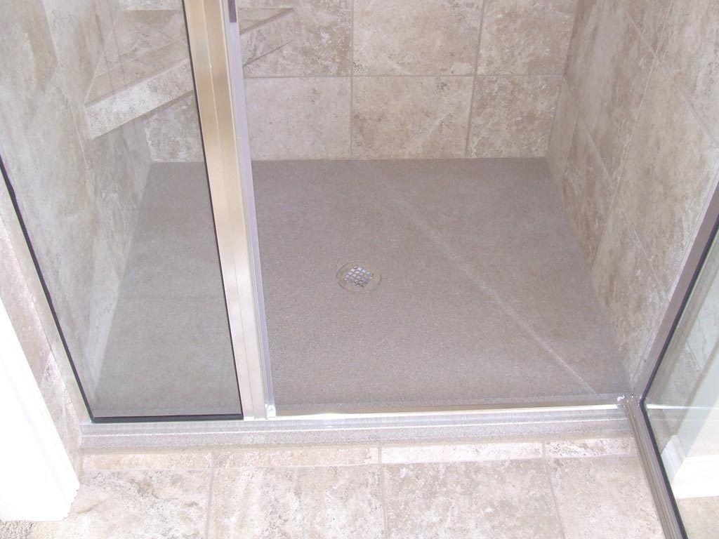 Bathroom Graceful Hot Mop Shower Pan Installation Also Shower Base
