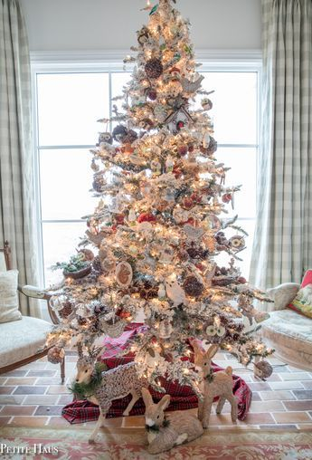 French Country Christmas Decor Home Tour Part 1 French country - country christmas decorations