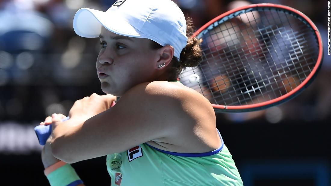 Ashleigh Barty Won T Play In Us Open Cnn In 2020 Ashleigh Final Four Billie Jean King
