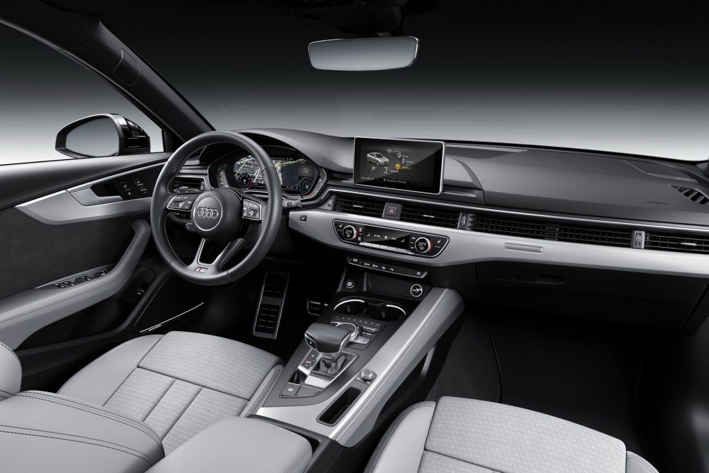 2019 Audi A4 Facelift Gets A New Look But Not Much Else Carscoops Audi A4 Audi New Trucks