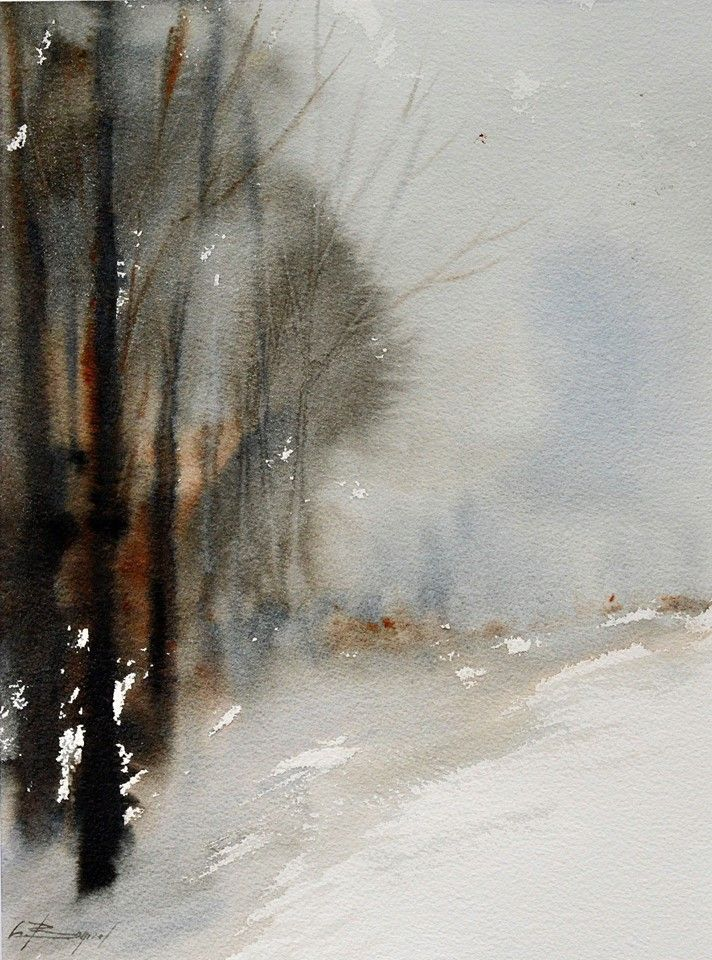By Christiane Bonicel Watercolor Images Watercolor Paintings