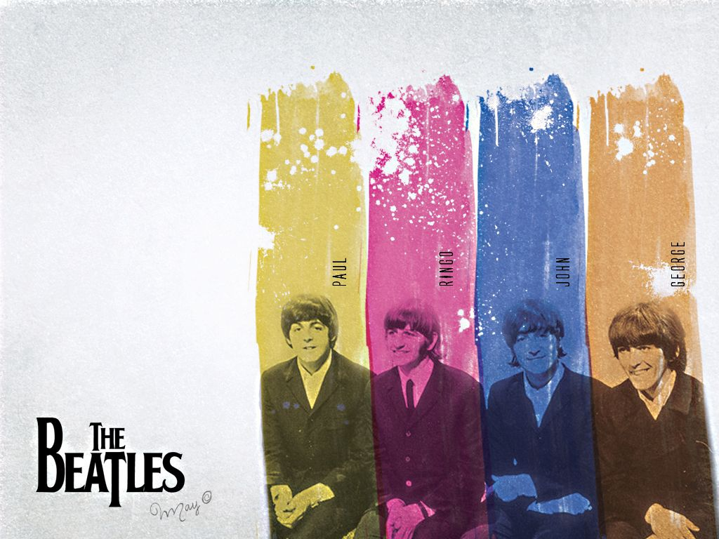 The Beatles Wallpaper by titemay on deviantART