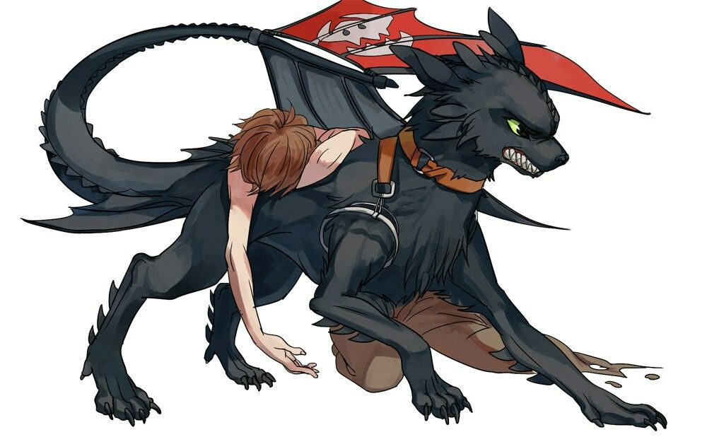 Photo of Not my art))) #hiccup #toothless #nightfury #httyd #httyd2