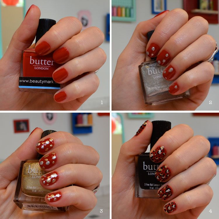 Easy To Do Nail Art Step By Step Tutorial Leopard Print Nail