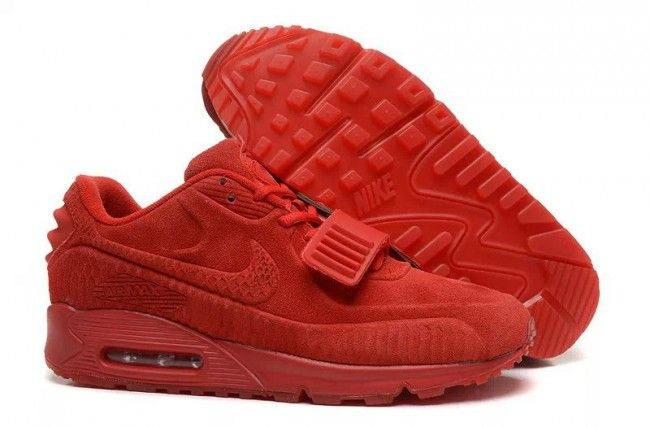 Nike Air Max Air Yeezy kanyewest Donne Red-3