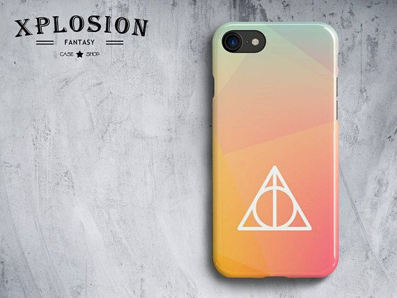Deathly Hallows Symbol Phone Case For Iphone And Samsung Galaxy S7