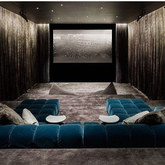 Cozy Home Theater: Home Cinema Room, Small Home Theaters, Home