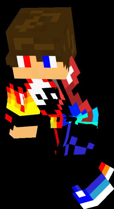 Nova Skin Minecraft Skin Editor Minecraft Minecraft Skin Red And Blue