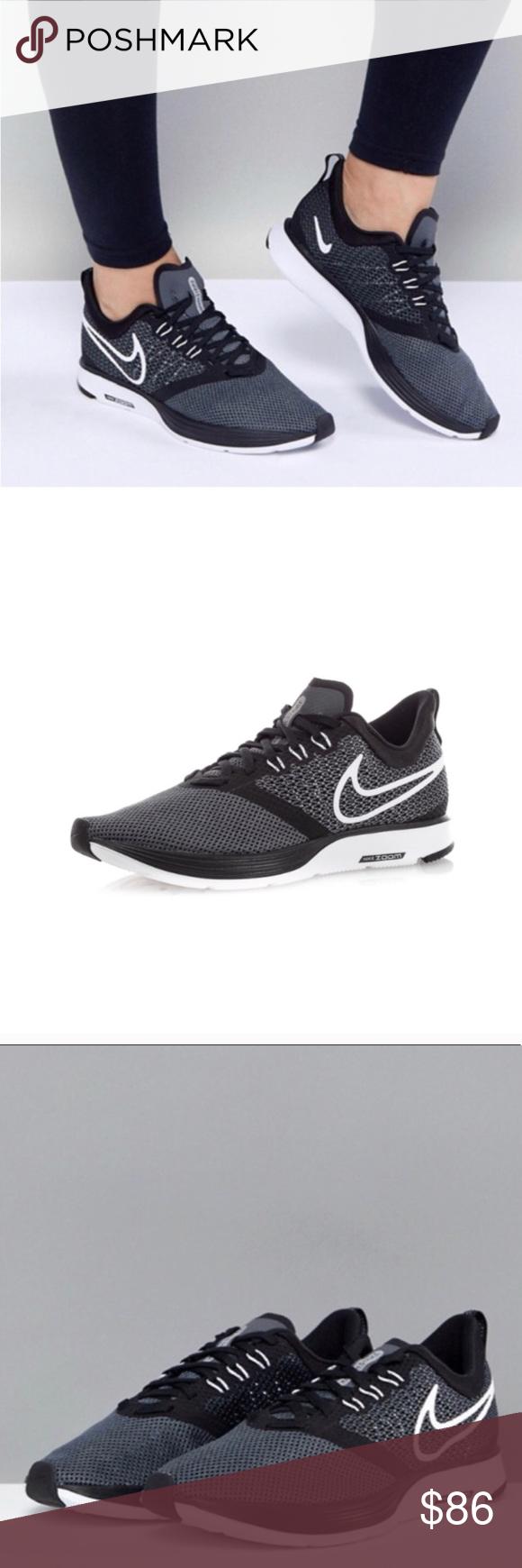 f6b98c4a8de5f Nike black white running air zoom strike NWT. Women s Nike black