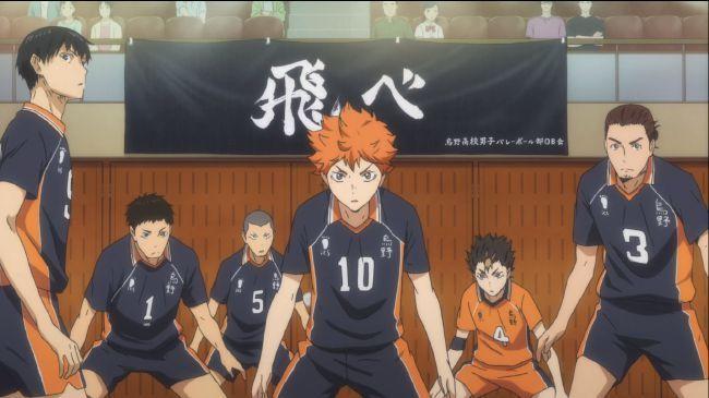 Which Haikyuu! Team are you On?   Karasuno
