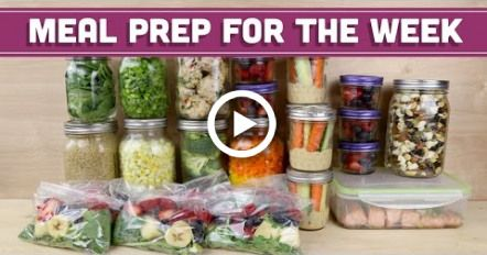Meal Prep for the Week! - Mind Over Munch #fitness