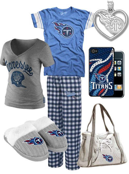 cheap for discount 5af94 7f1ab Cute Women's Tennessee Titans Gear | style collages | Titans ...