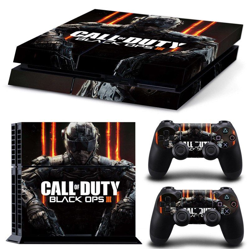 Call Of Duty Black Ops 3 Sony Ps4 Console Skin Kit Fashion