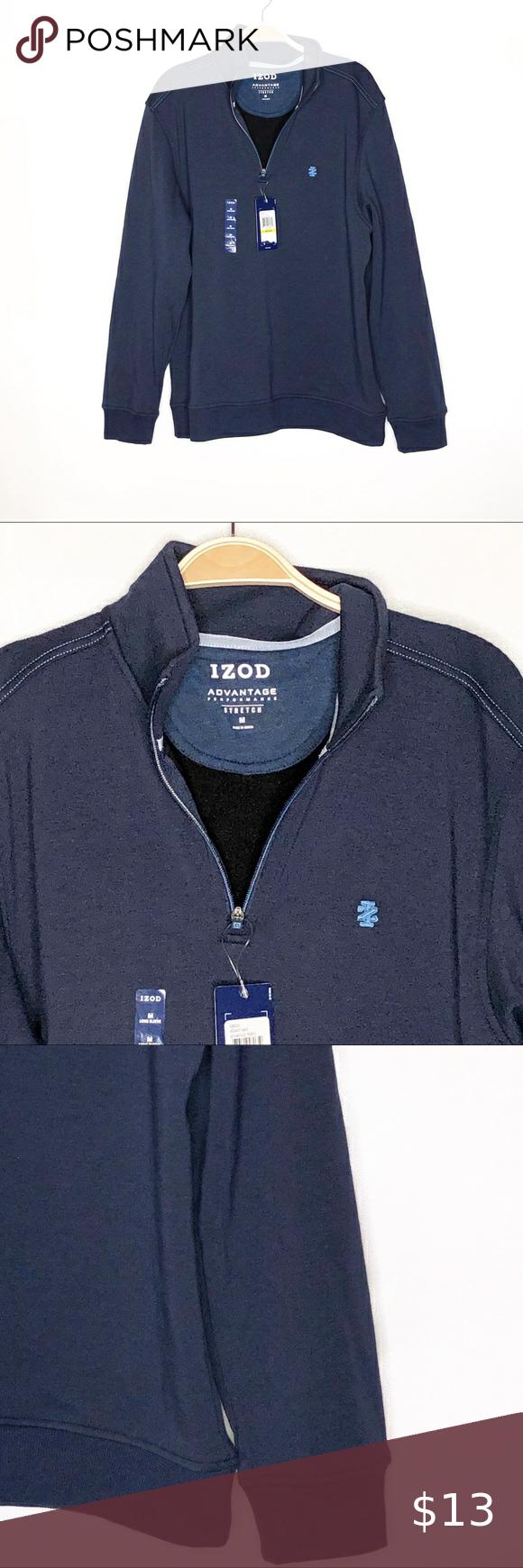 4 30 New Men S Izod Jacket Navy Size M Jackets Clothes Design Izod [ 1740 x 580 Pixel ]