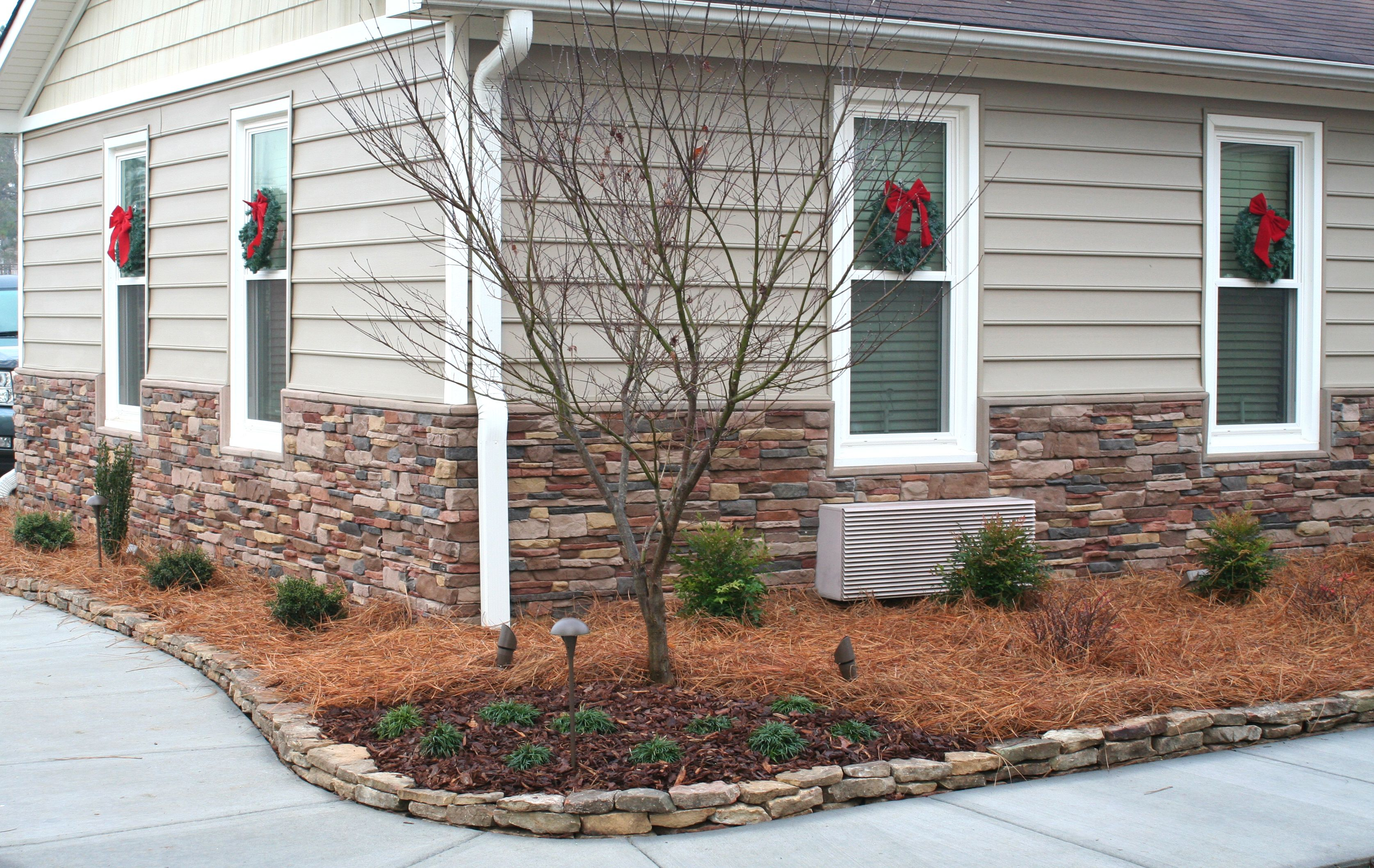 Meridian Ledge Stone In P Series Used For The Foundation