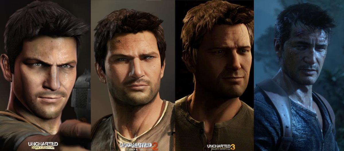 Nathan Drake S Character Model In Uncharted 4 A Thief S End