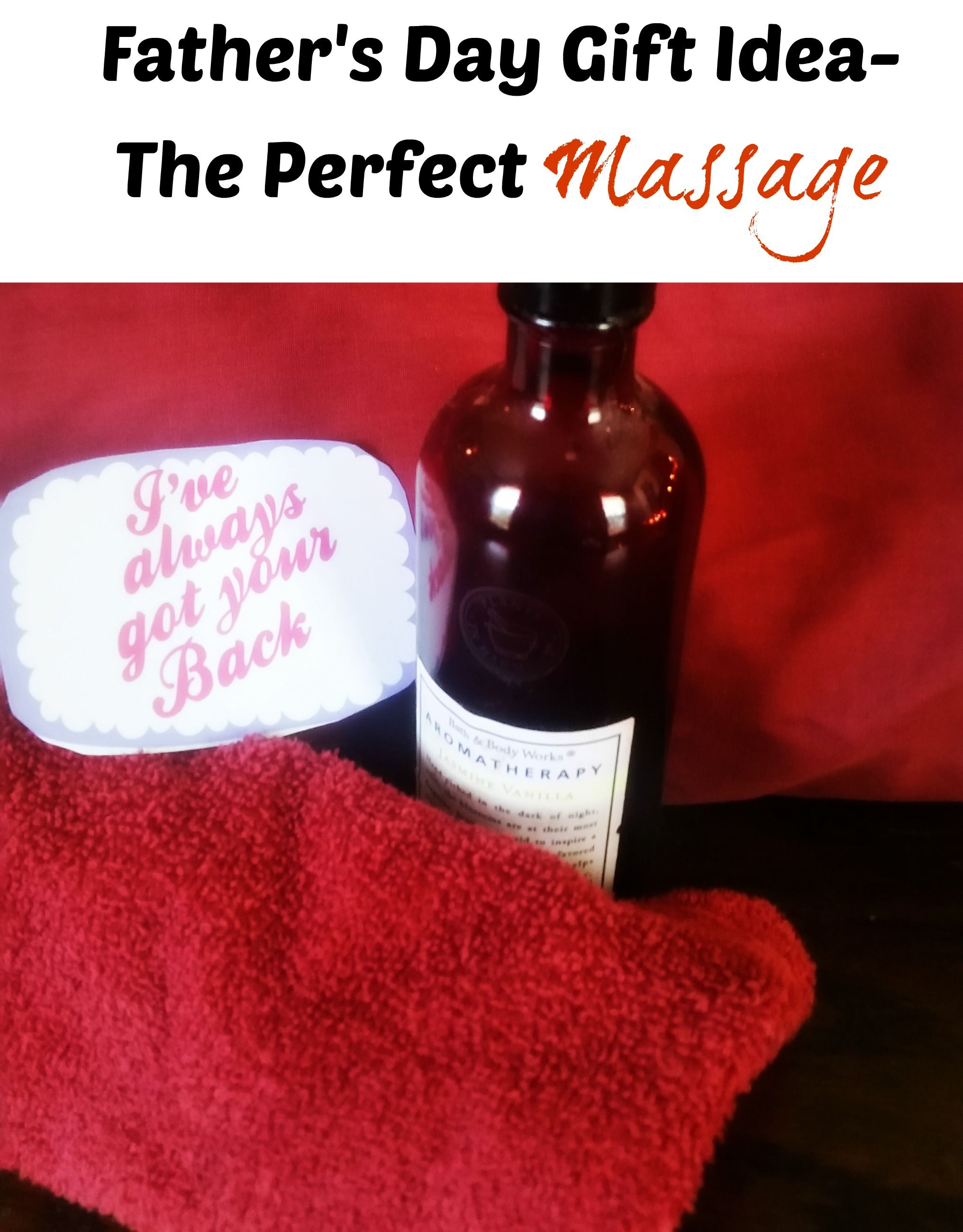 give a massage to your husband date night ideas