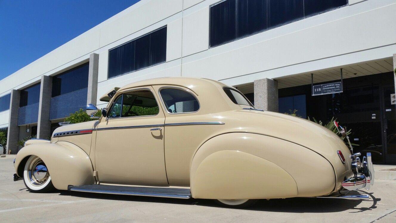 1940 Prewar Chevy Coupe Bagged Tail Dragger Custom Cars