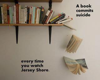 Guilty, though an avid reader!