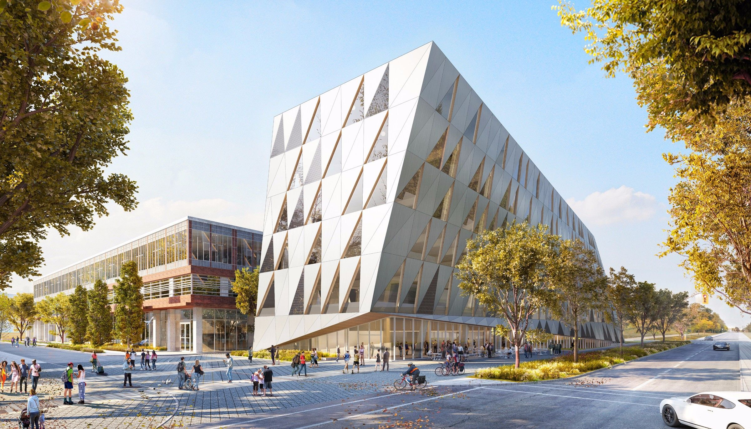 WAN:: School of Continuing Studies by Perkins + Will in Toronto ...