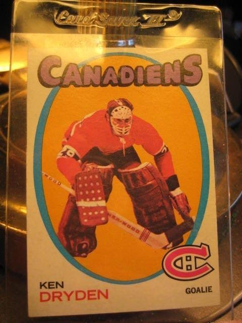 Ken Dryden Rookie Card 45 Hockey 1971 1972 Topps Canadiens