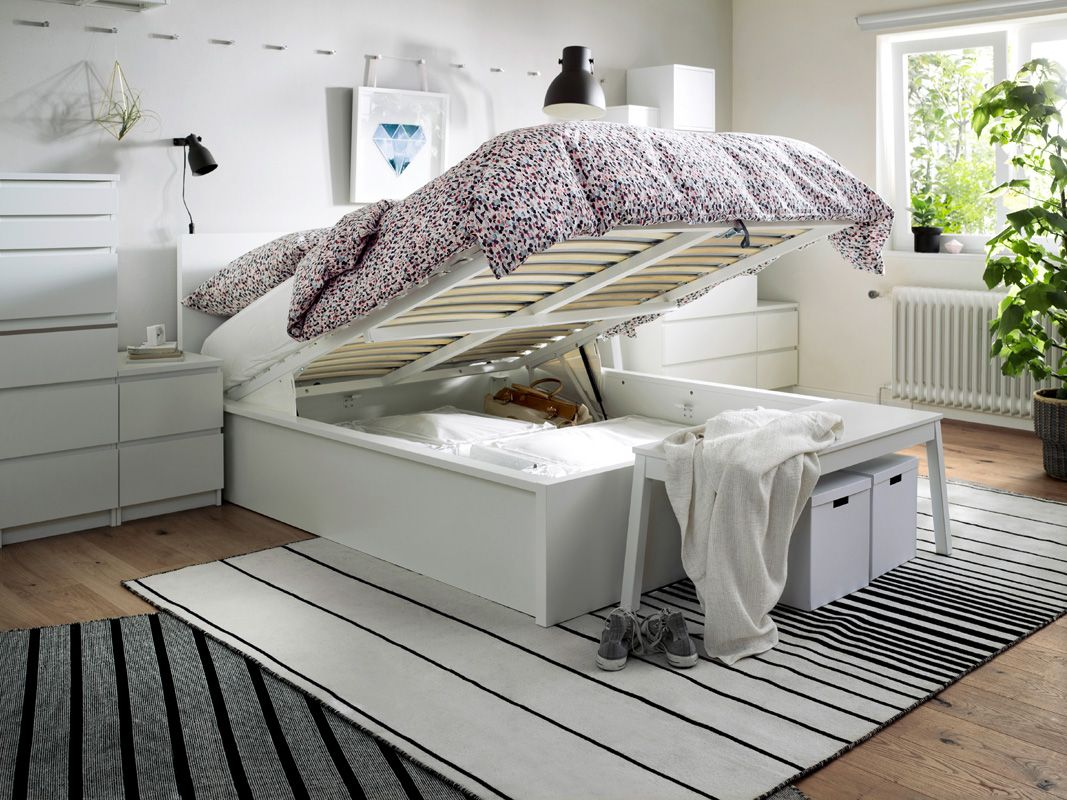 Order In The Bedroom And Wardrobe With Ikea 16 Malm Series