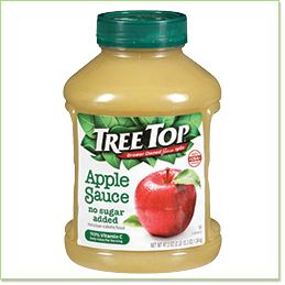 No Sugar Added Apple Sauce, 47.3 oz