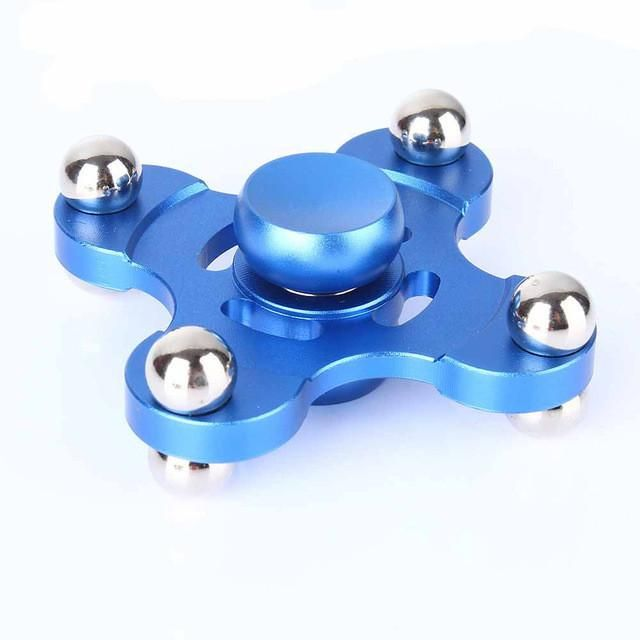 Top toy Anti stress Fidget Spinner Single Finger Decompression Gyro For Kids & Adults Finger spinner metal
