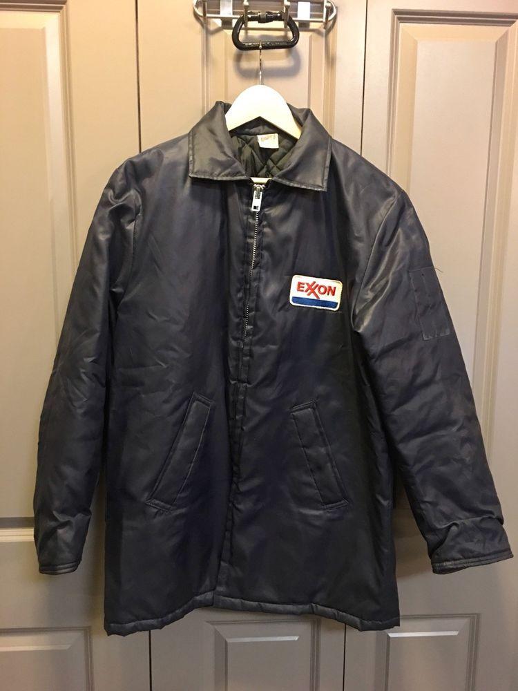 Vintage American Made Exxon All Weather Coat Fashion Clothing Shoes Accessories Mensclothing Coatsjackets Ebay Link Coats Jackets Coat American Vintage