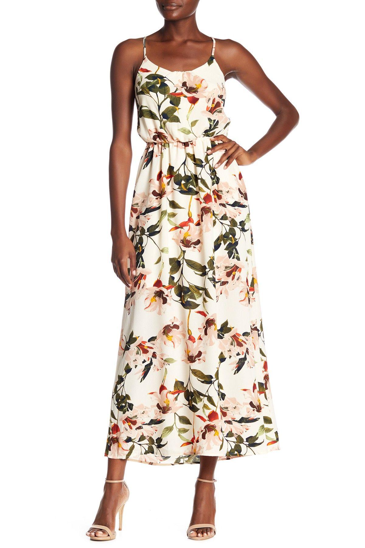 caa2c25211b08 Dex   Floral Print Maxi Dress   My Style   Dresses, Floral print ...