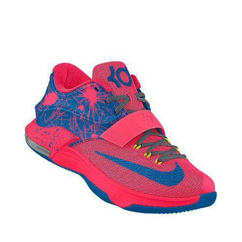 buy popular 86c05 33a44 DARK BUBBLE GUM KD 7 Basketball Sneaker, Kd Schuhe, Süße Schuhe, Hip Hop