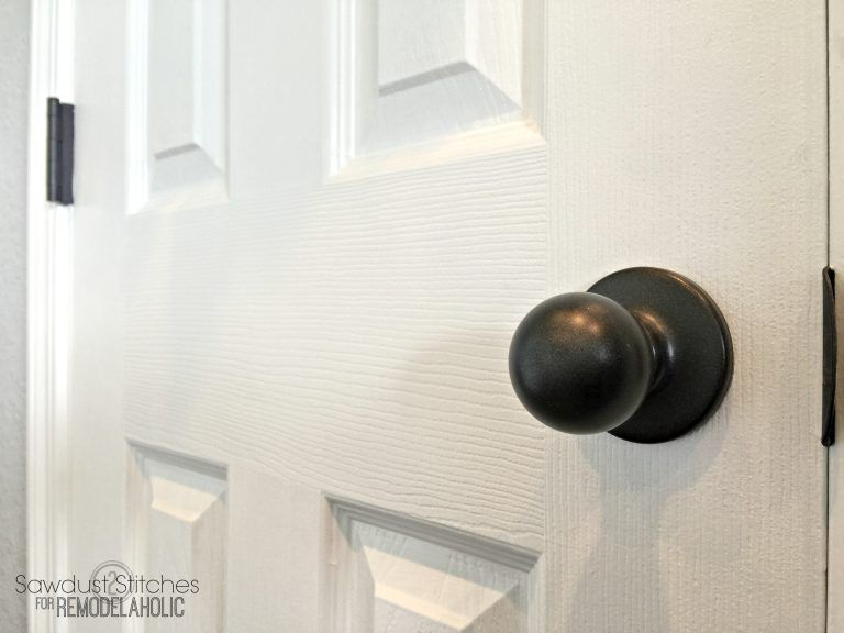 How To Upgrade Door Knobs With Spray Paint The Right Way So You