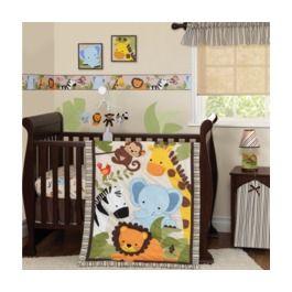 53e6874aee12 Bedtime Originals Jungle Buddies 3 PC Set