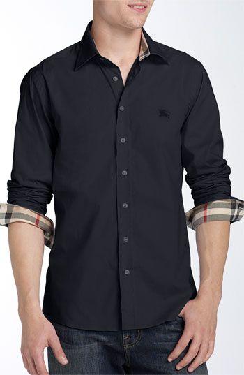 e0990747af0d Burberry Brit Poplin Sport shirt   Shirts   Pinterest   Mode Homme ...