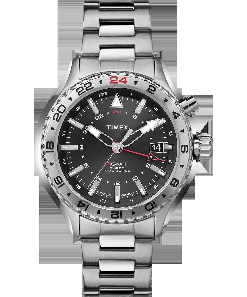 Timex Intelligent Quartz® 3GMT -  160  d4b396b66b2