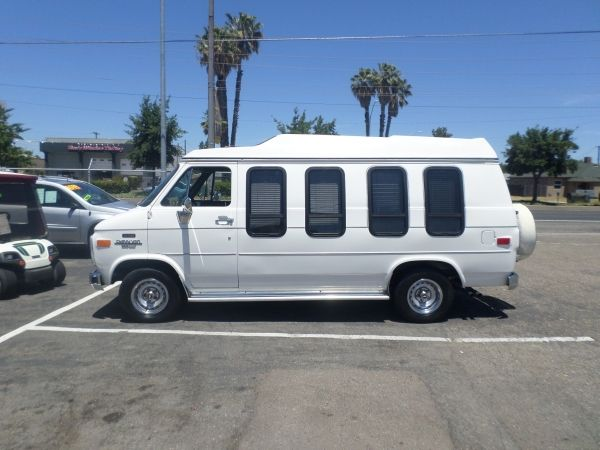 1991 Chevrolet G20 Conversion Van Handicap Mini Van Vans Chevrolet