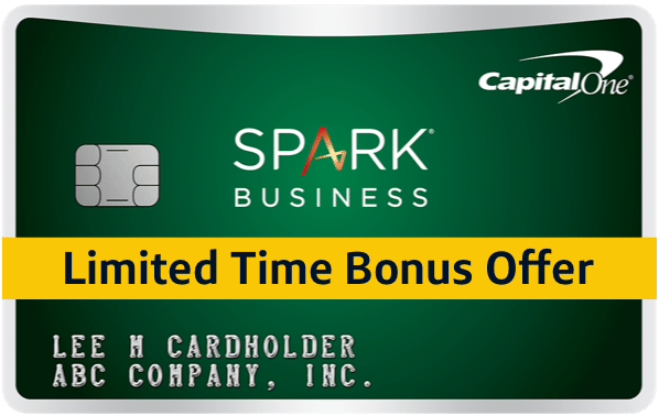 Capital One Spark Business Card 2500 Reward On Top Of 2 Cash Back With 50k Spent In 1st Capital One Small Business Credit Cards Travel Rewards Credit Cards