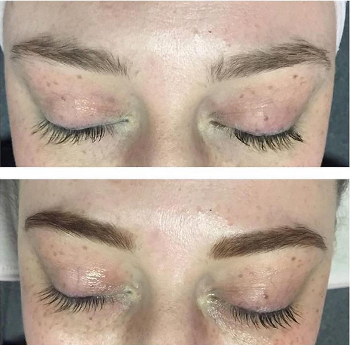 Brow tint at Oliver Finley Academy of Cosmetology Eye
