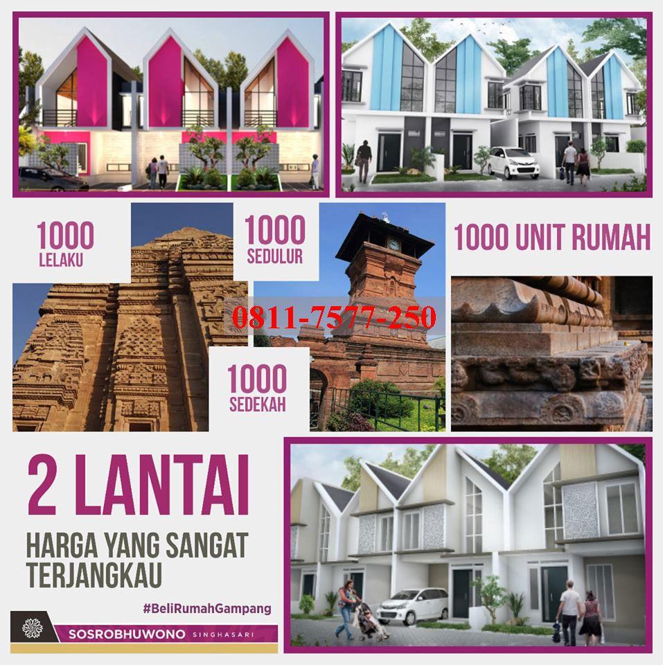 Hunian Kawasan Terbesar 1000 Unit Rumah Dengan Konsep Rumah Villa