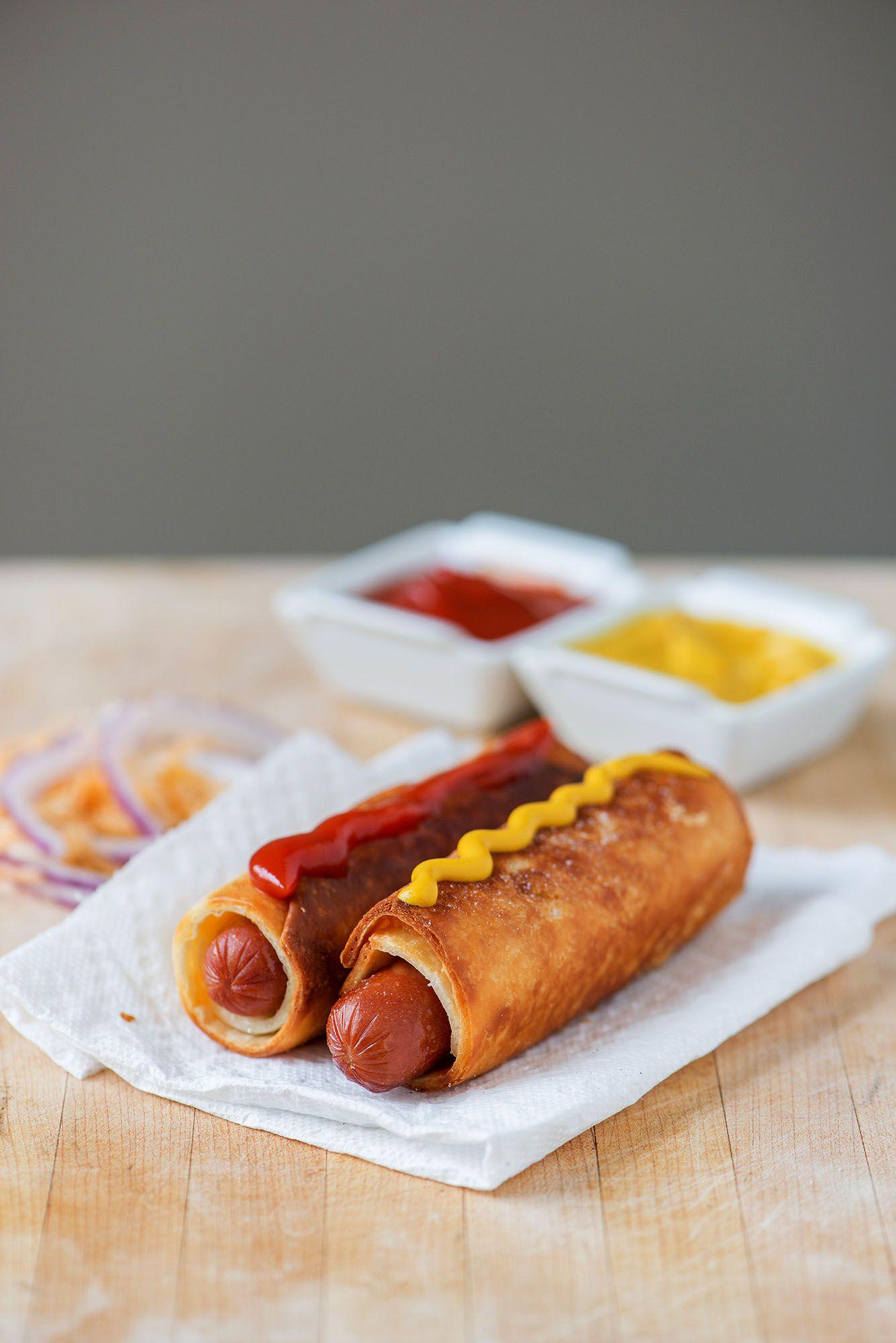 hot dog tortilla