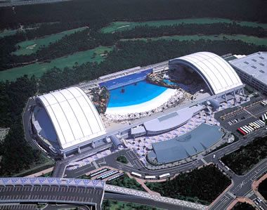 Phoenix Seagaia Resort Ocean Dome Japan Tensile