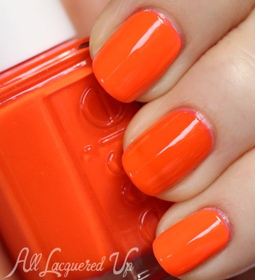Essie Nail Polish Orange Shades