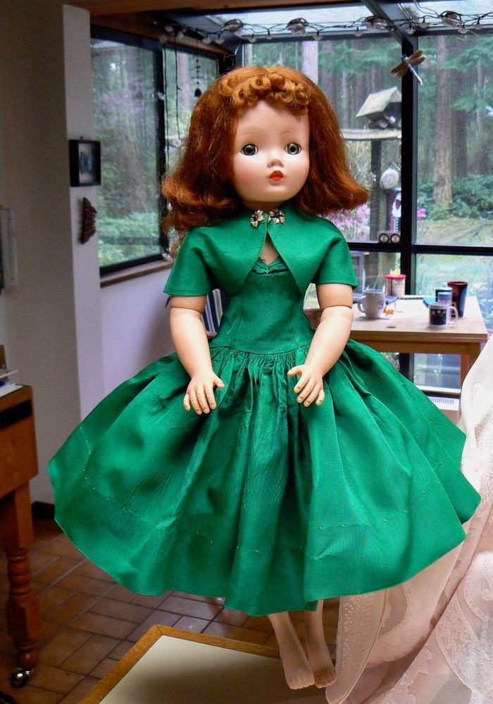 6135f9c96b Details about BEAUTIFUL VINTAGE MADAM ALEXANDER CISSY DOLL WITH ...