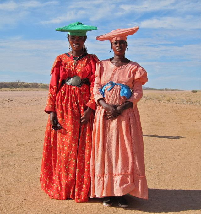 Why The Women of This African Tribe Dress in Victorian Era ...