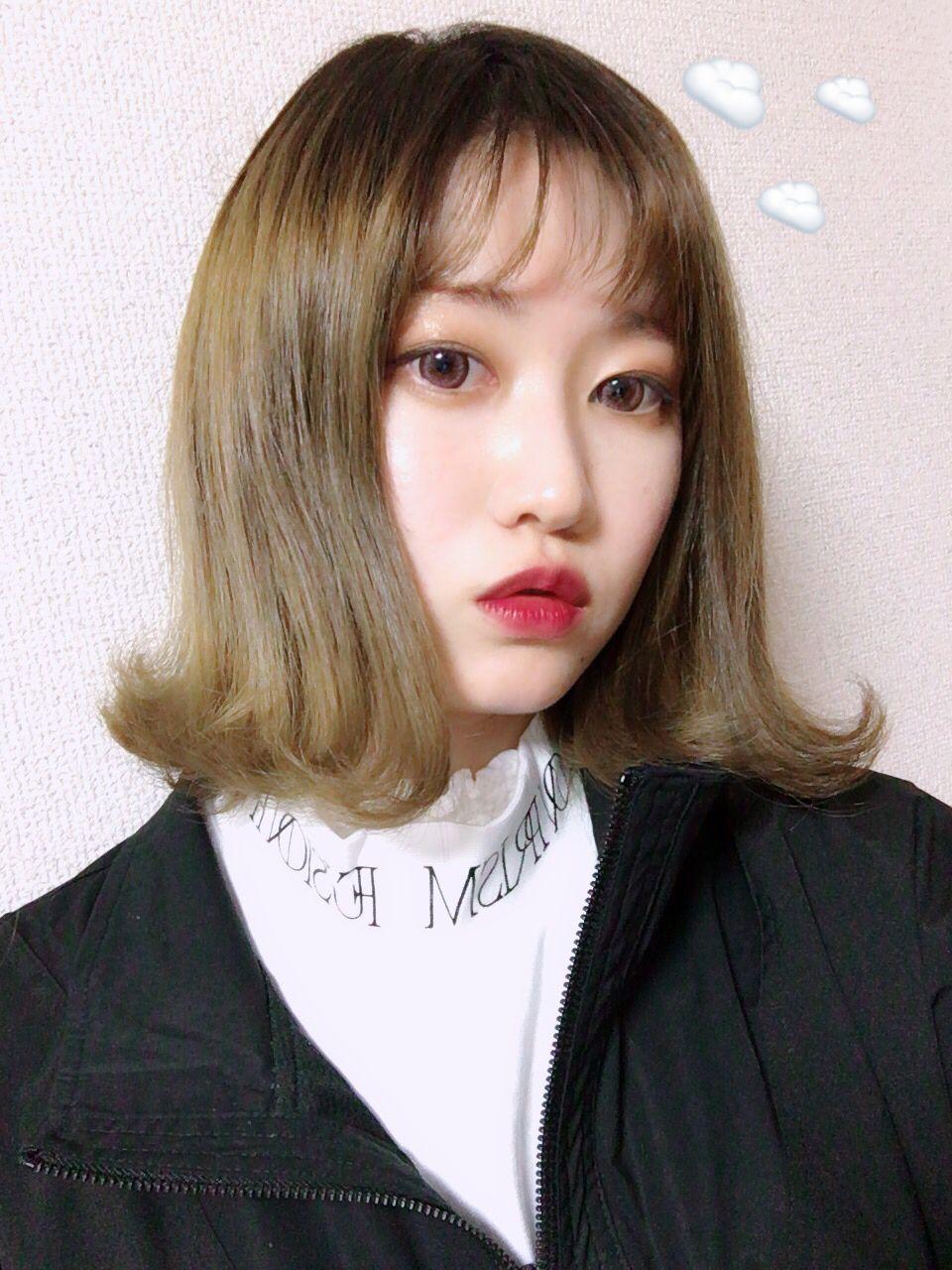 단발머리 머리 헤어스타일 ヘアスタイル 髪型 タンバルモリ