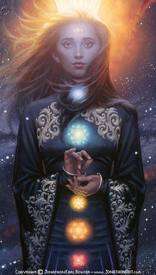 ...The planets are aligned. She is most powerful now than she will ever be...