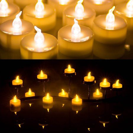 Beauty With Images Tea Lights Led Tealight Candles White Tea