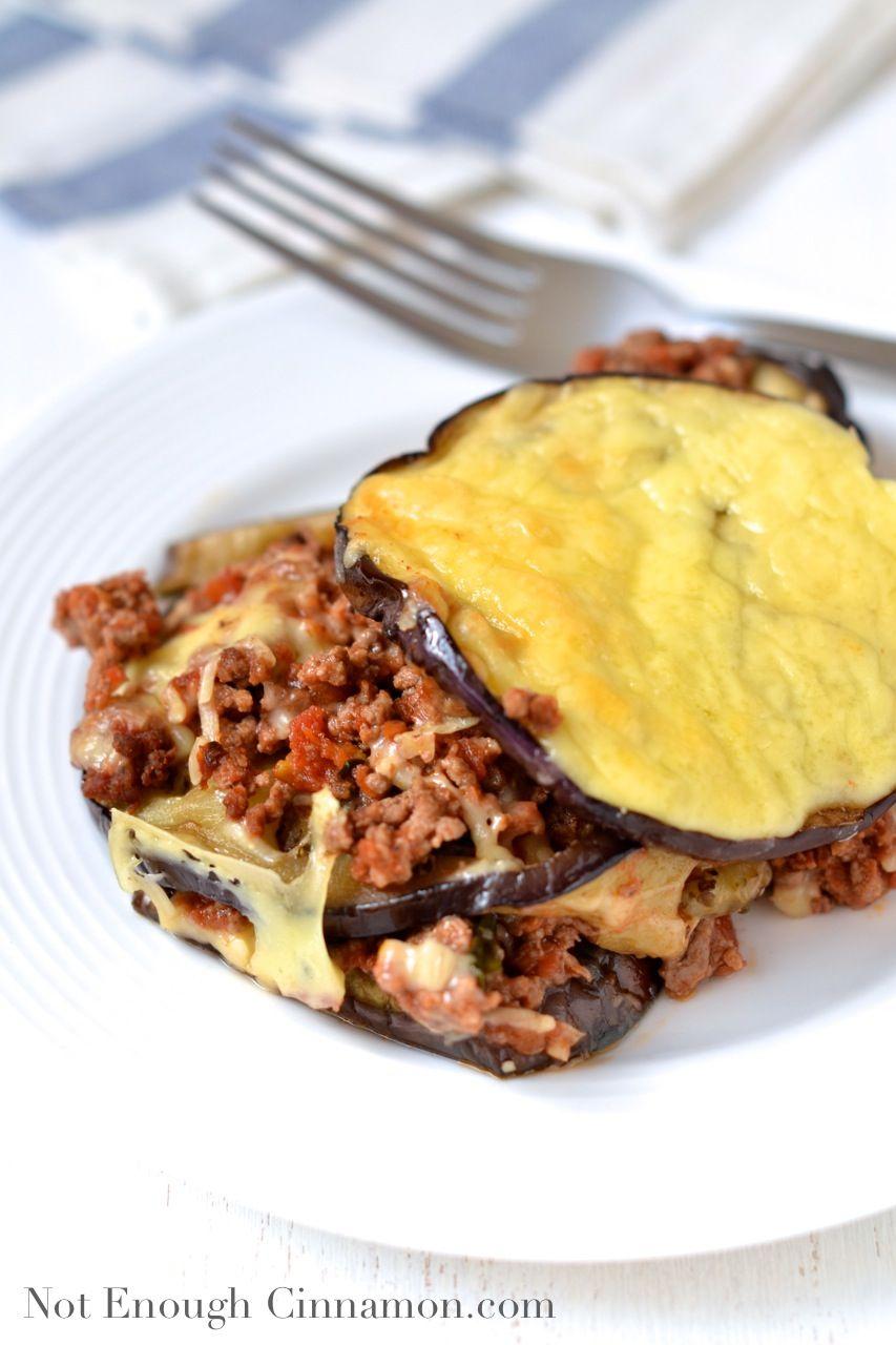 Beef Eggplant Casserole Recipe Food Recipes Ground Beef Casserole Food