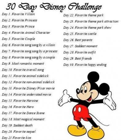 20 Ideas drawing challenge disney 30 day #drawingprompts